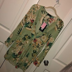 Floral dress - brand new